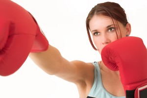 Burlington, NC women's kickboxing classes